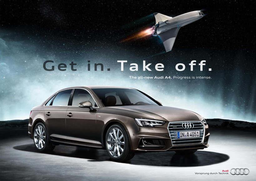 Audi A4 · Campaña Internacional de Lanzamiento 0