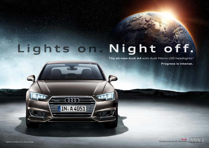 Audi A4 · Campaña Internacional de Lanzamiento 1