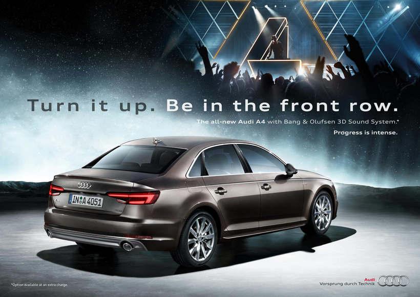 Audi A4 · Campaña Internacional de Lanzamiento 2
