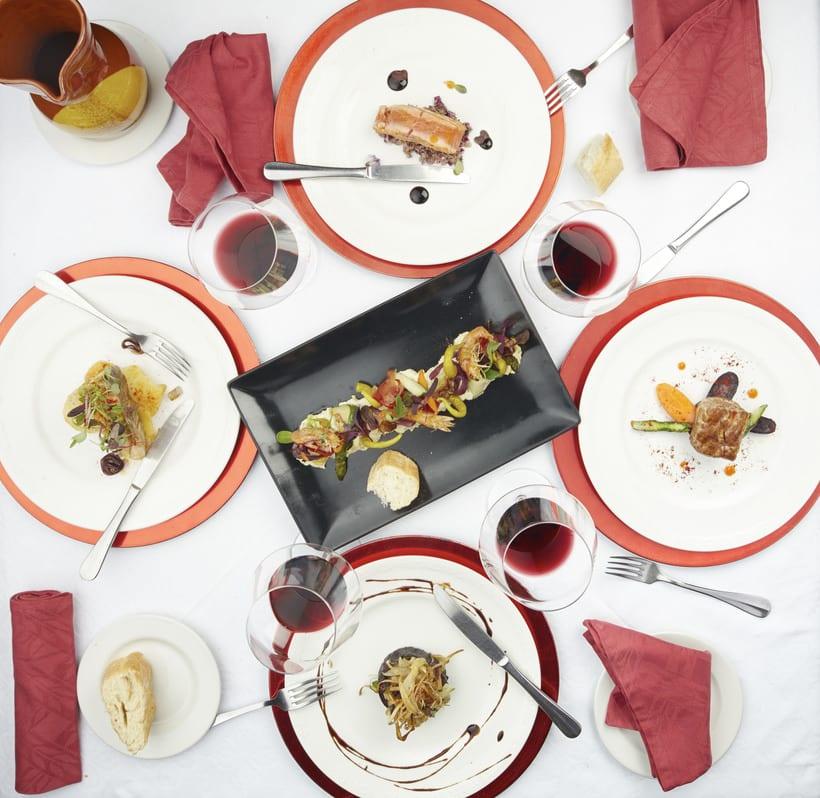 Un trabajo para el Restaurante Castilla de Toro. Seguí mucho de los consejos de Francesc. Espero que os guste. 8
