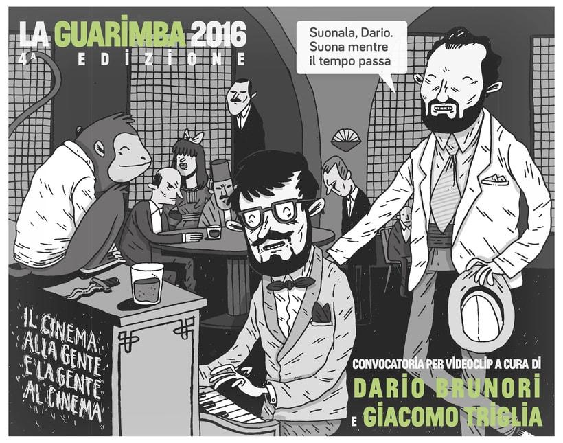 Ilustraciones promocionales- LA GUARIMBA -1