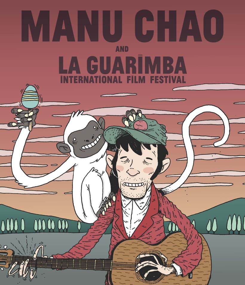 Ilustraciones promocionales- LA GUARIMBA 0