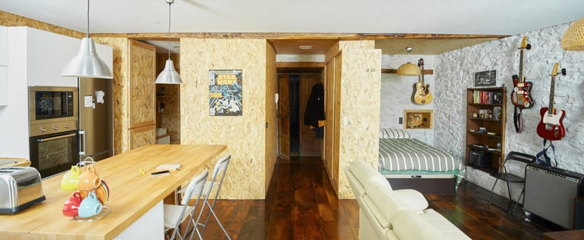 Fotografia de interior: La Casa del Rock & Roll con Coda Arquitectos 2