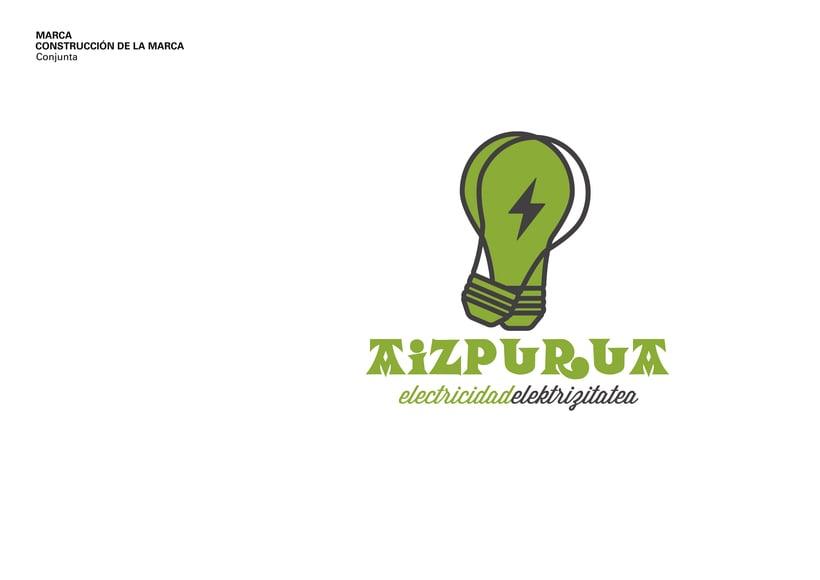 Identidad Corporativa • Aizpurua Electricidad 2015 1