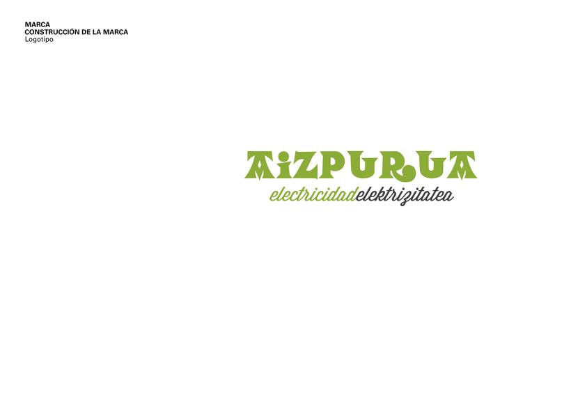 Identidad Corporativa • Aizpurua Electricidad 2015 3