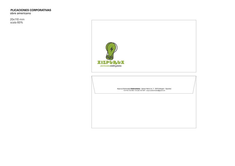 Identidad Corporativa • Aizpurua Electricidad 2015 7