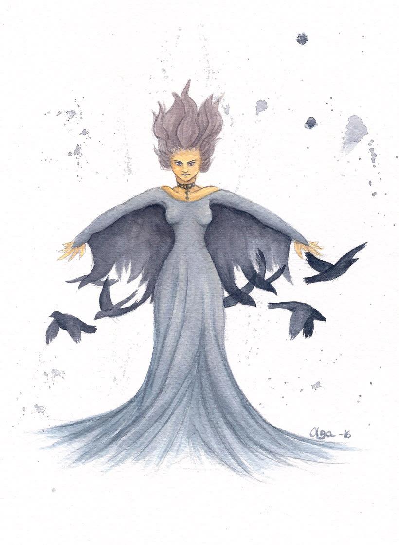 Madame crow -1