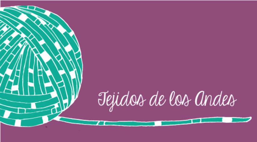 Tejidos de los Andes / Ilsutracion para marca 0