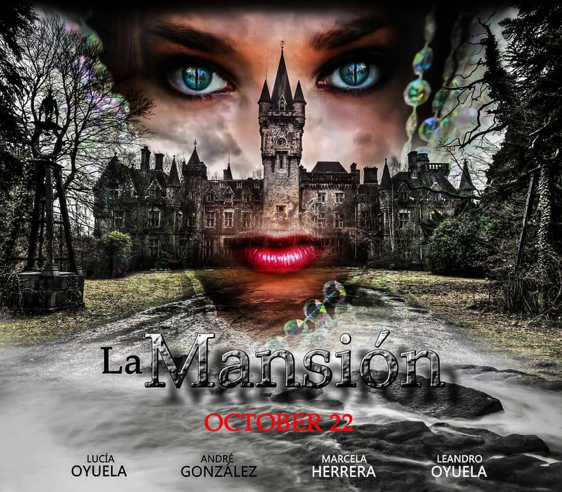 Mi Proyecto del curso: Retoque de Película (La Mansión - Leandro González Oyuela) -1