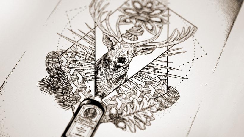 Jägermeister crea el primer corto animado hecho con tatuajes  2