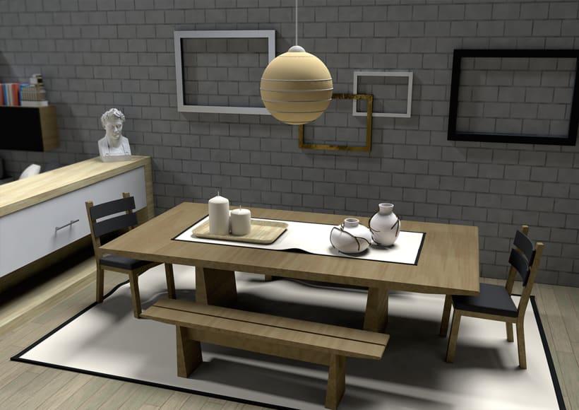Diseño y Reforma de Interior. Espacio Residencial 6