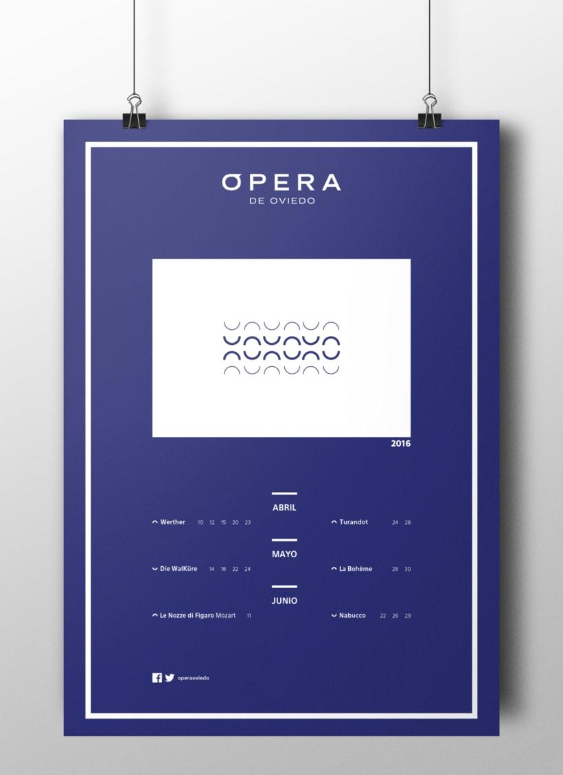 Cartelería Ópera de Oviedo 1