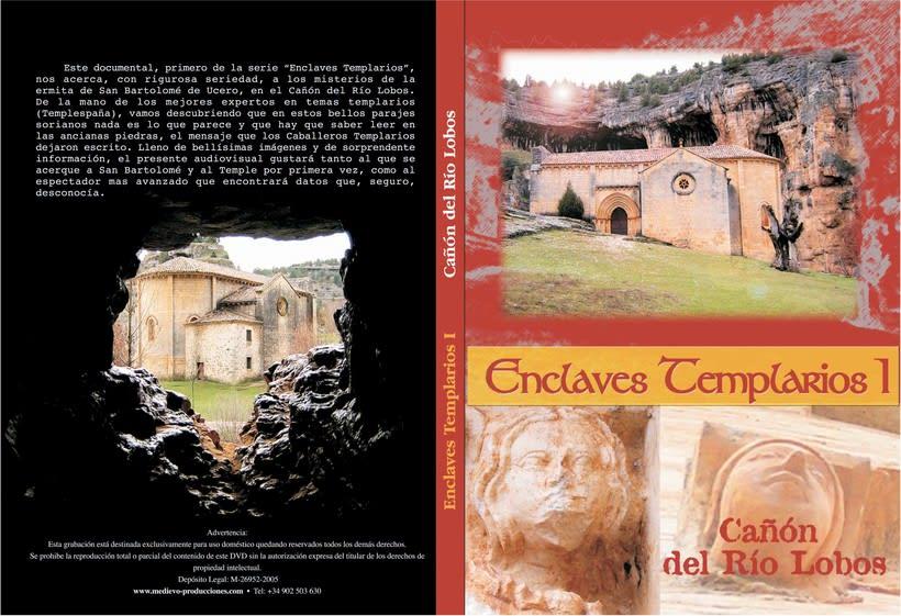 Carátula DVD Enclaves Templarios -1