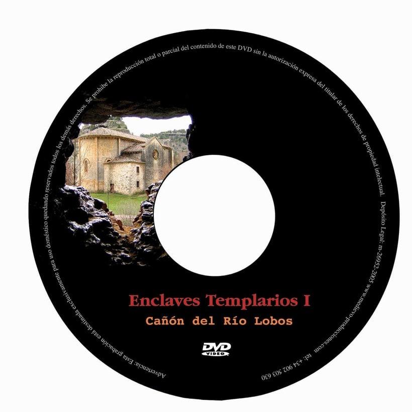 Carátula DVD Enclaves Templarios 0