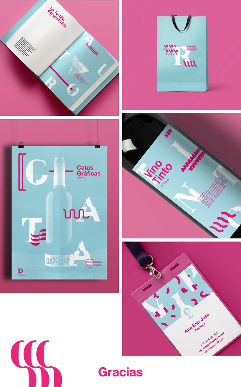 Diseño en su punto & tipografía deconstruida  5