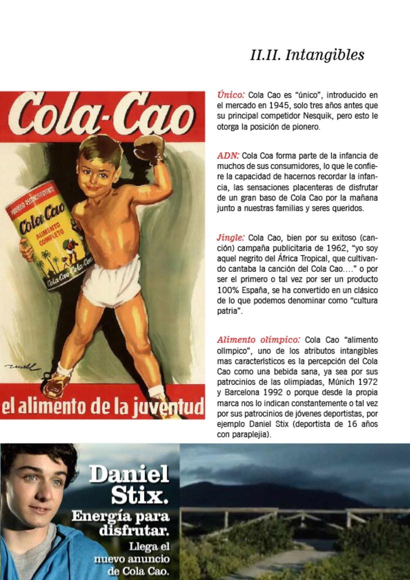Maquetación presentación ColaCao - ESIC 3