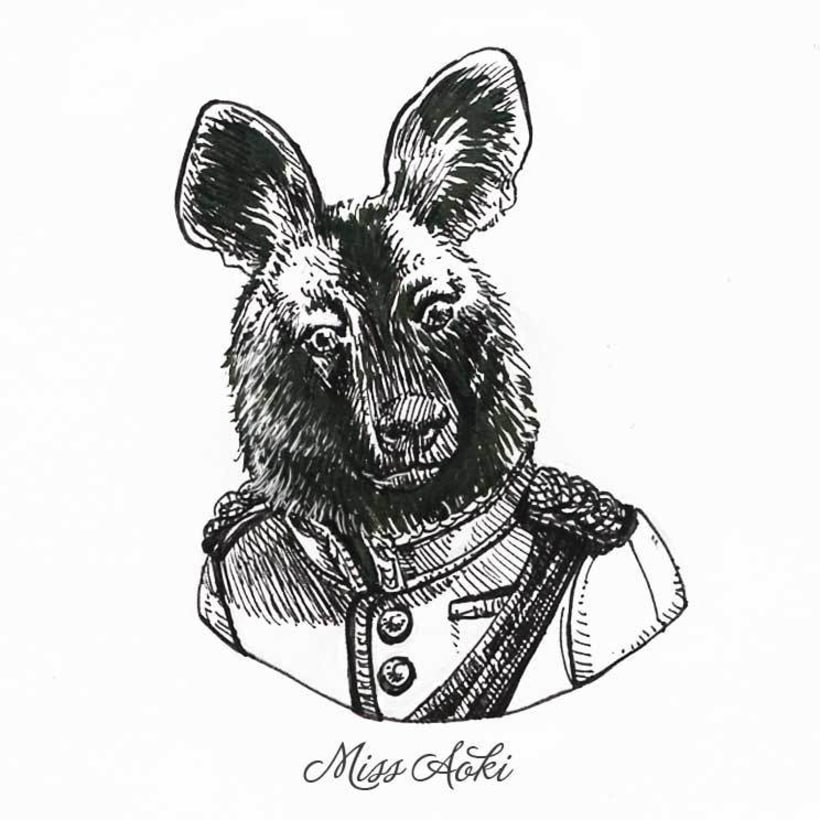 Fancy Animals (Inktober 2015) 11