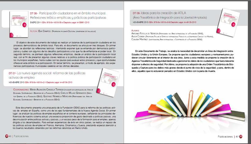 Memorias anuales Fundación IDEAS 6