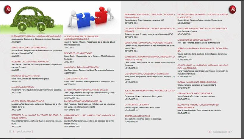 Memorias anuales Fundación IDEAS 9