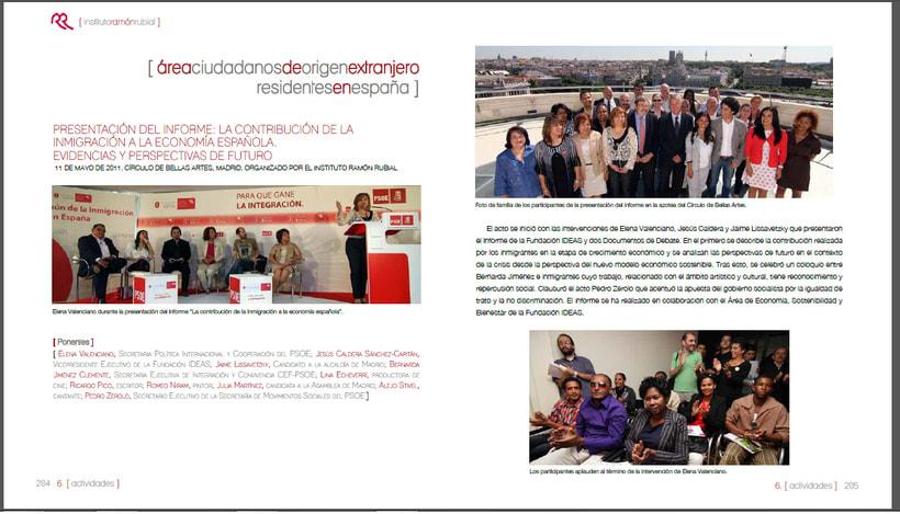 Memorias anuales Fundación IDEAS 11