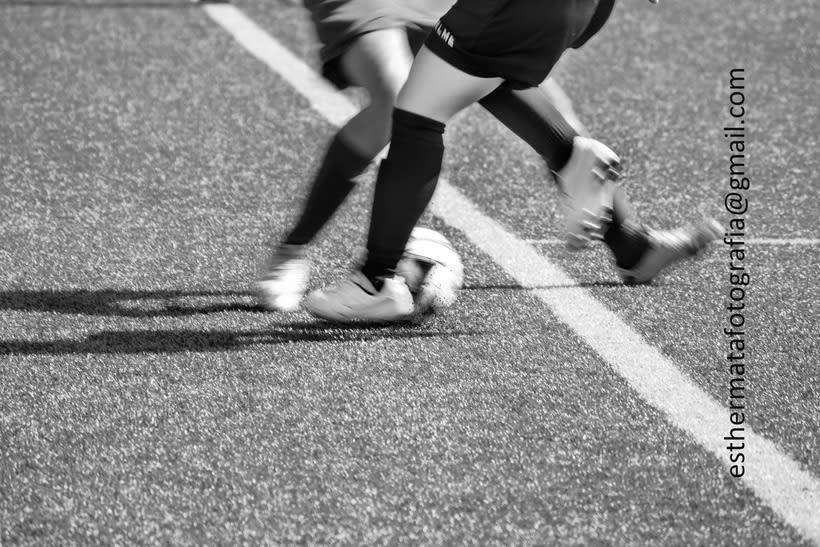 Fútbol féminas. AtMadrid vs 3Cantos 0