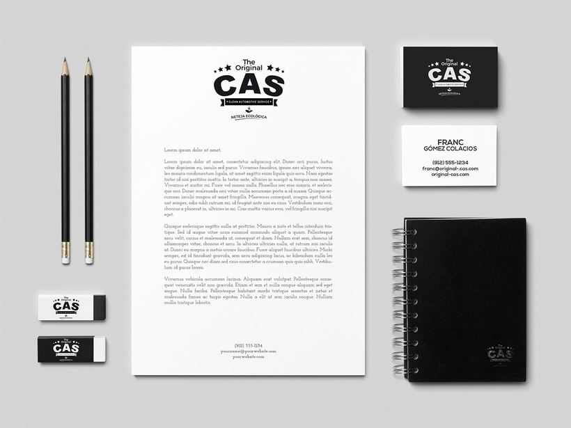 THE ORIGINAL CAS | BRANDING 4