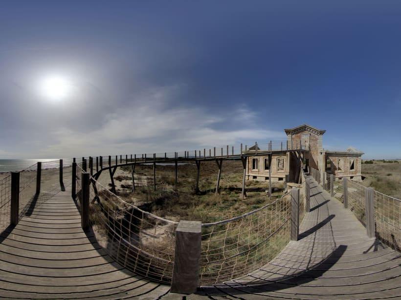 Fotografía 360 destinada a mercado inmobiliario, destino turísco y hostelería 0