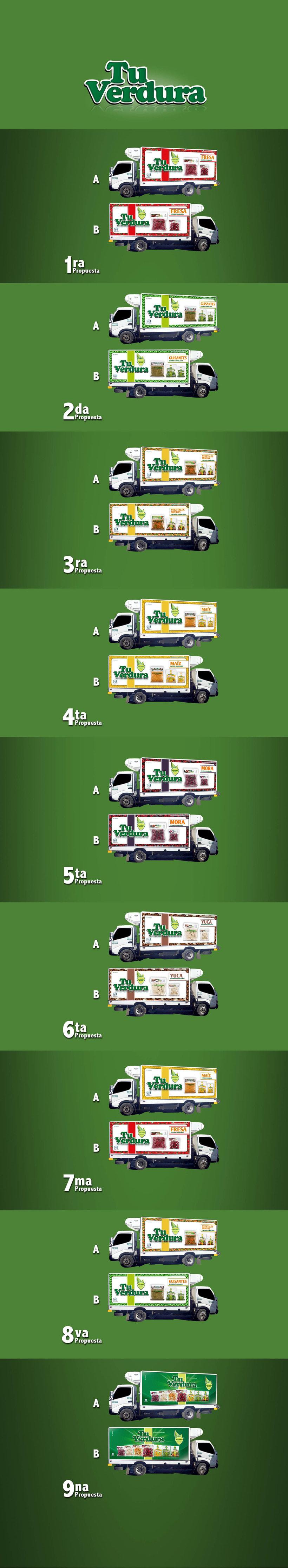 Rotulación Camiones  Tu Verdura 0