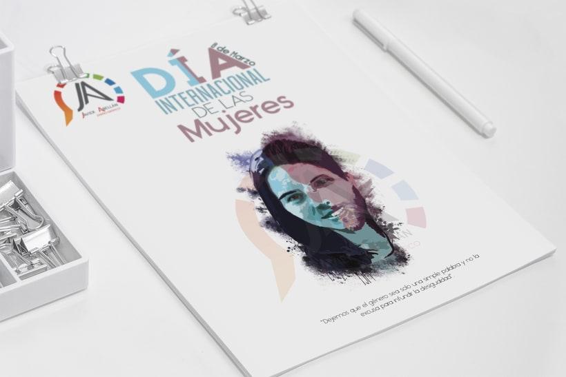 Carteles concurso día internacional de la mujer 2016-2017 -1