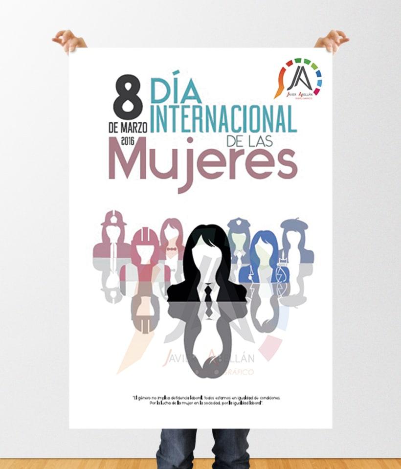 Carteles concurso día internacional de la mujer 2016-2017 0