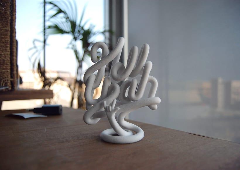 Hell Yeah sculpture 4