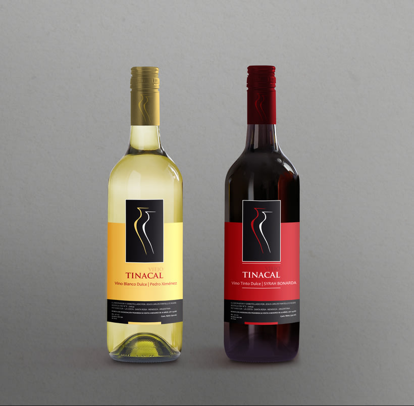 Diseño para etiquetas de vino 0