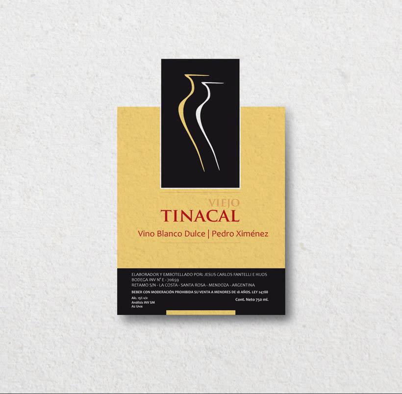 Diseño para etiquetas de vino 2