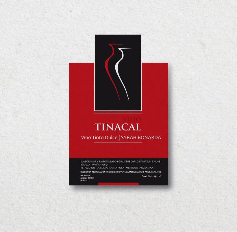 Diseño para etiquetas de vino 1