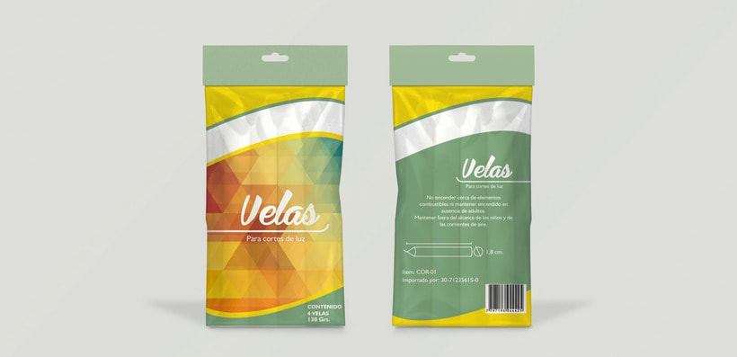 Packaging para velas 0