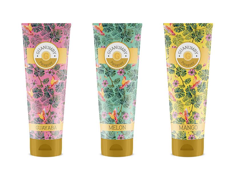 GUANUMBY: Es una gama de productos cosméticos & aromaterapia basada en colores, sabores e intensos olores de Paraguay. Deseo que os guste, lo he hecho con mucha ilusión y me he divertido muchísimo :D!  4