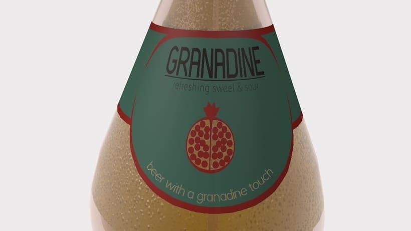 -GRANADINE BEER, Branding- 0