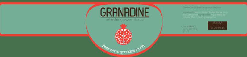 -GRANADINE BEER, Branding- 2