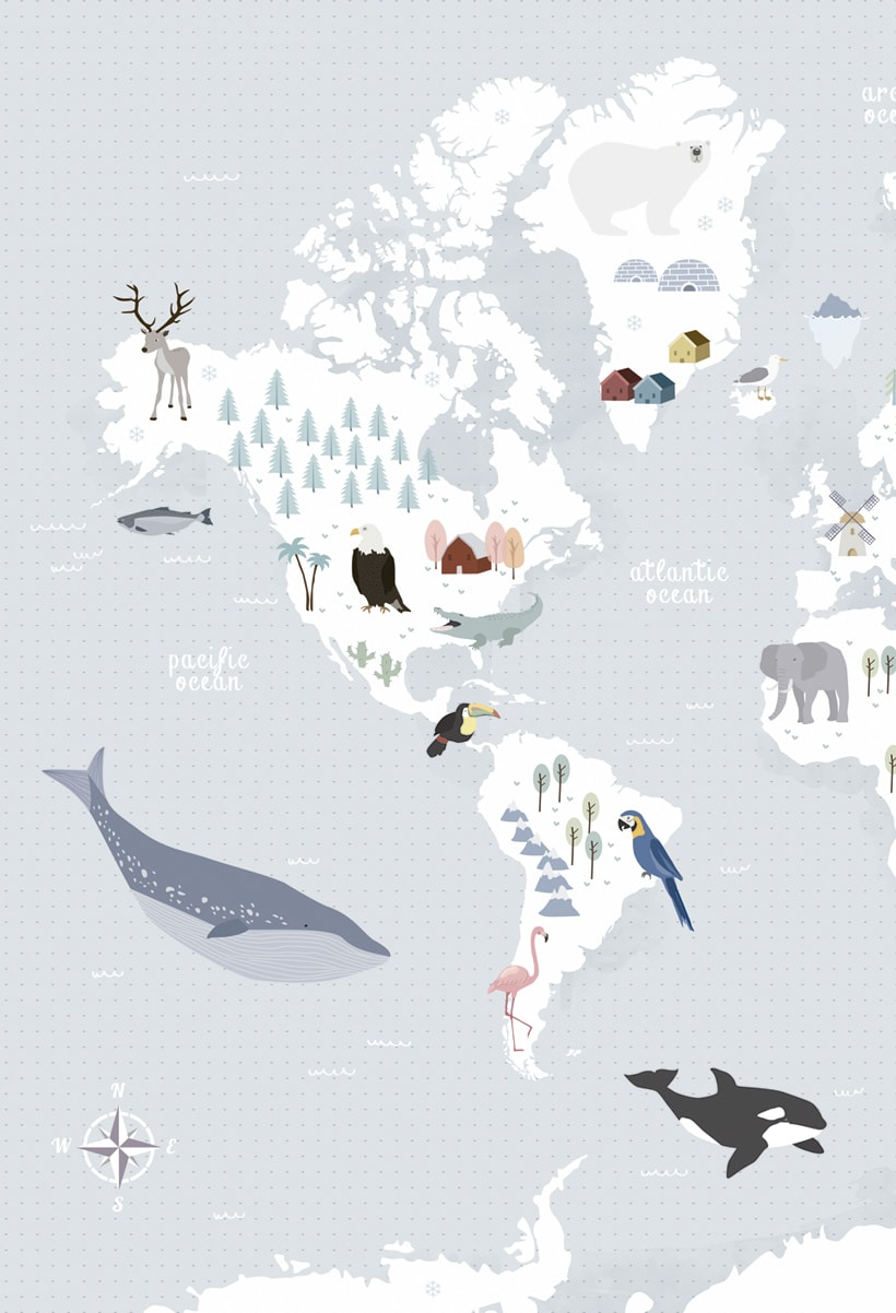 Animal Map of the World 0
