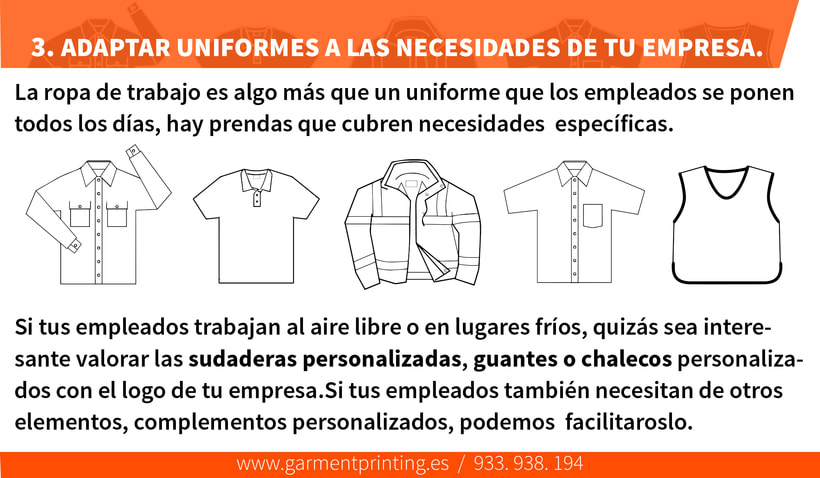 BENEFICIOS de invertir en UNIFORMES PERSONALIZADOS 6