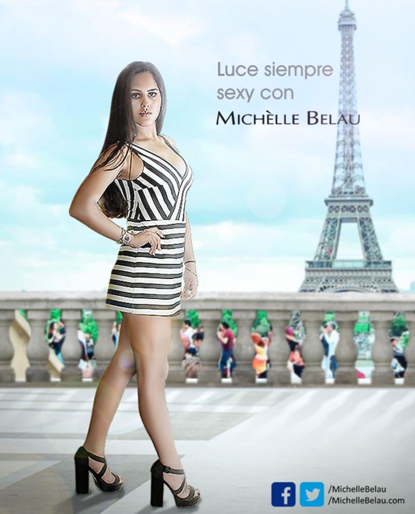crisgraphics  Afiche Michélle Belau -1