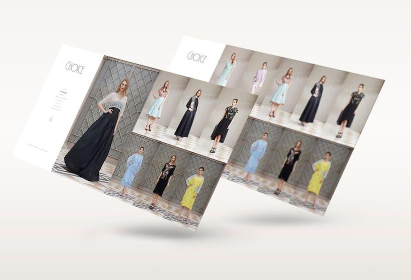 Choice Moda Website Design 1