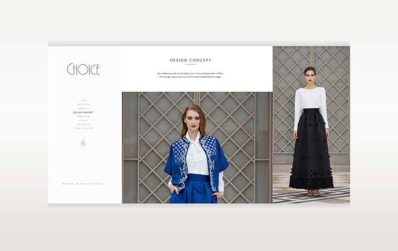 Choice Moda Website Design 6