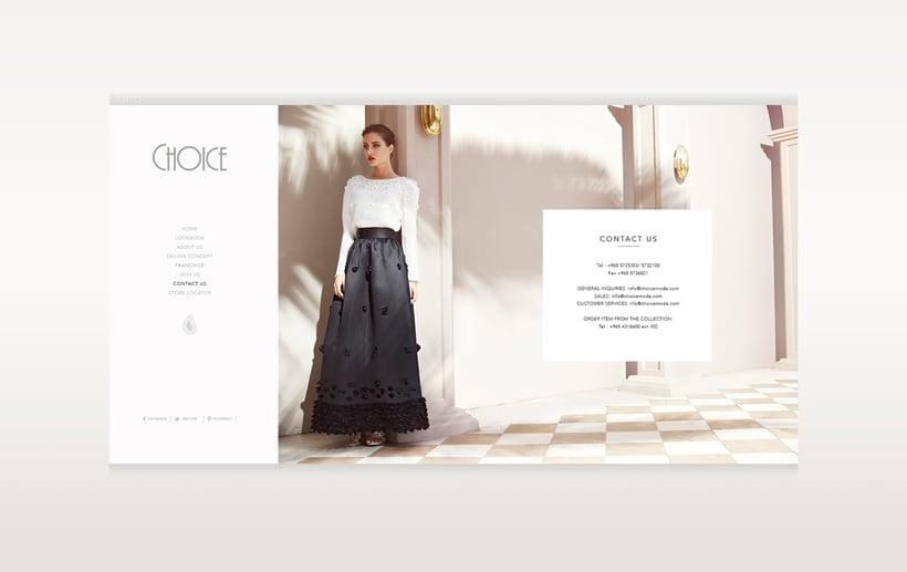 Choice Moda Website Design 7