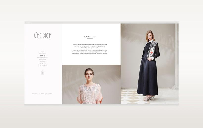 Choice Moda Website Design 8