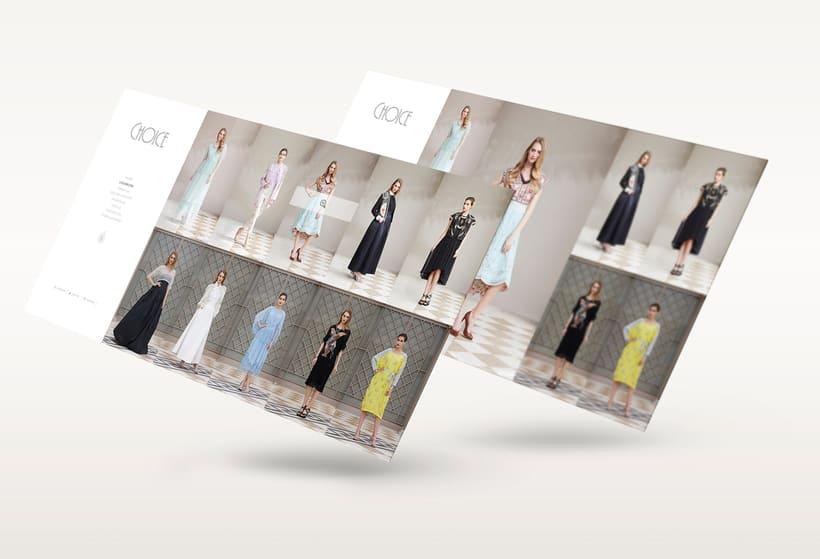 Choice Moda Website Design 2