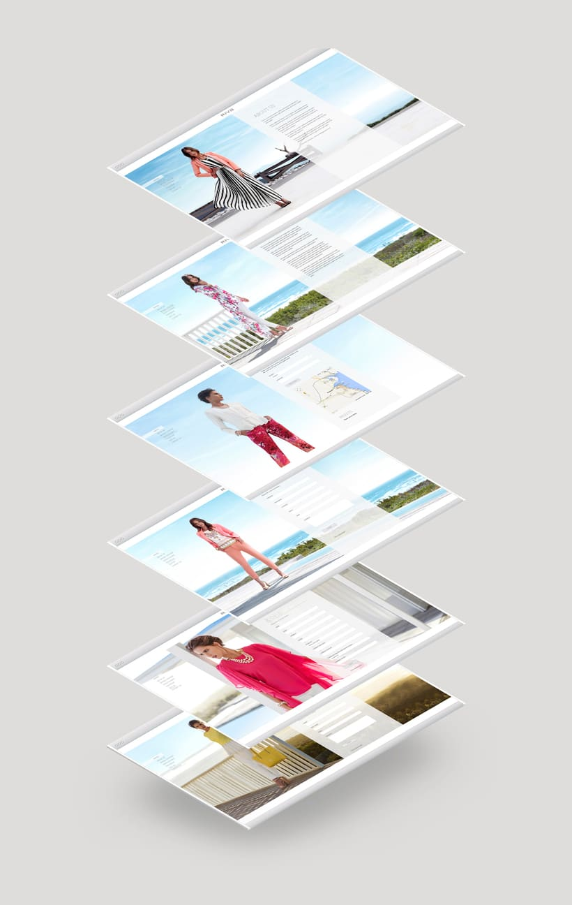 Riva Fashion Website Design 4