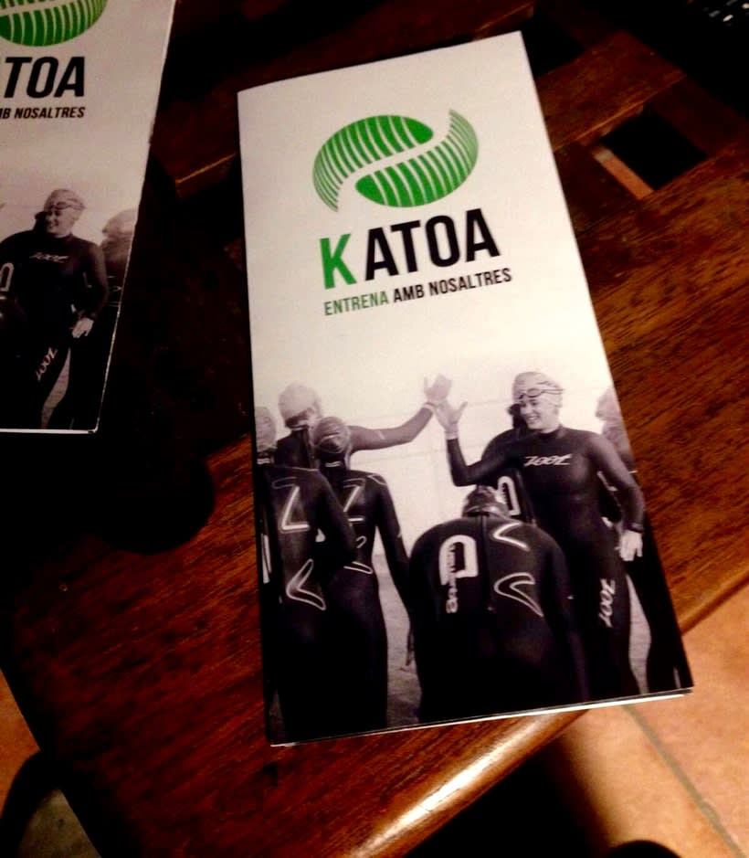 Logotip KATOA / triptic / targetes 0