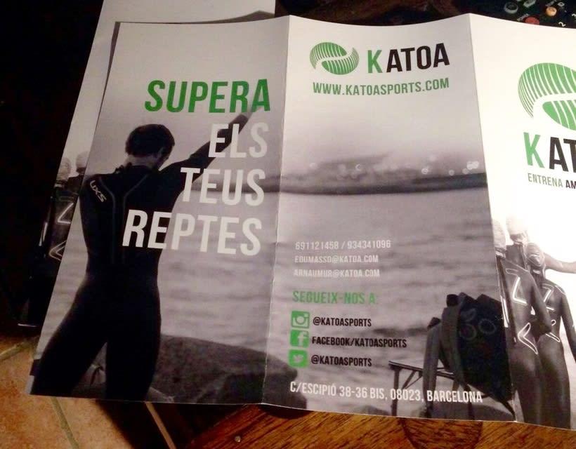 Logotip KATOA / triptic / targetes 1