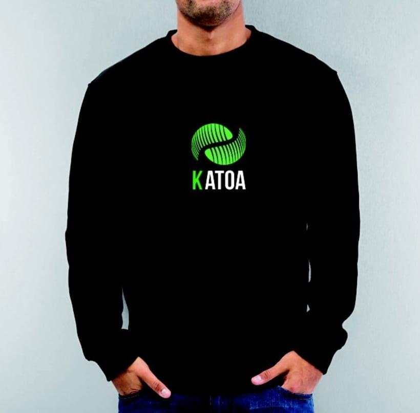 Logotip KATOA / triptic / targetes 2